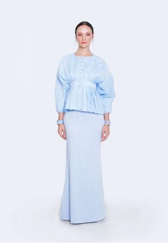REETA BLUE from ODDA.KL in Blue