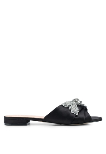 ALDO black Doublin Flat Sandals D6CC8SH4E15417GS_1