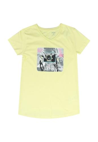 FOX Kids & Baby yellow Kids Girl Short Sleeves Tee 2CCD2KA0F360A9GS_1