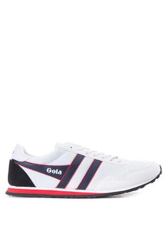 Gola white Monaco Sneakers GO513SH25TRQPH_1