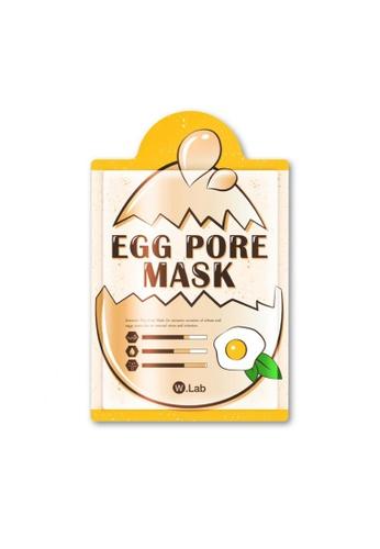 W.Lab Egg Pore Mask (10pcs) WL257BE74ZXTSG_1