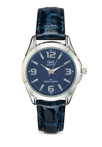 C193J345Y 皮革圓框手錶, esprit門市地址錶類, 飾品配件