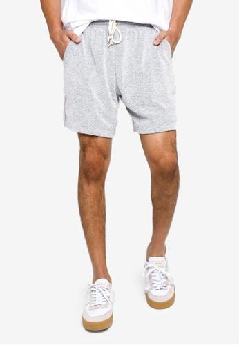 GAP grey Terry Towel Shorts D5111AAC702A5FGS_1