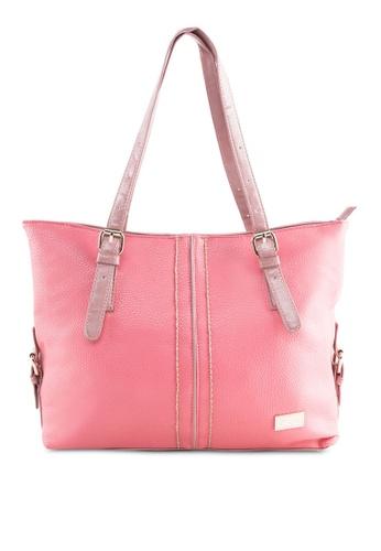 AR by Alfio Raldo pink Double Handle Tote Bag AR107AC22RQBMY_1