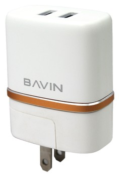 Bavin DL-AC52 2 Ports USB Charger Adapter