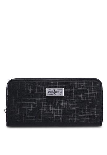 Swiss Polo black Zipper Wallet 3B17CACAE39A15GS_1