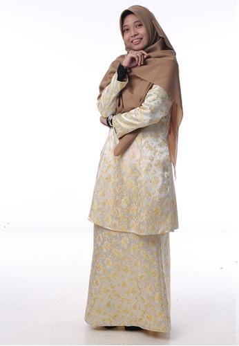 Baju Kurung Salwa from Denai Boutique in yellow_1