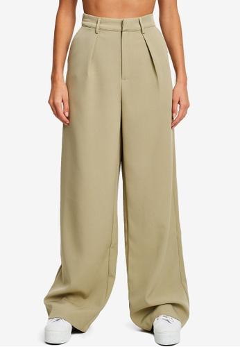 Calli green Erina Pants B28E7AA70D2E61GS_1