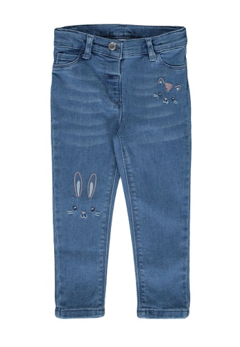 LC Waikiki blue Baby Girl's Skinny Fit Jeans F83F0KABF8FF46GS_1