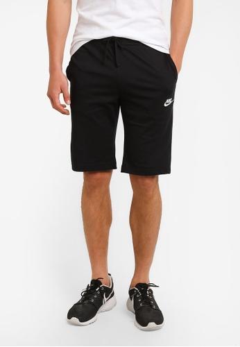 hot sale online 74add c3bf3 Nike black Men s Nike Sportswear Shorts 9B38DAA4731942GS 1