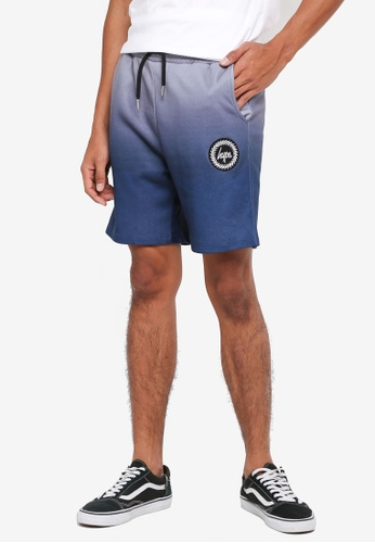 Just Hype blue Midnight Fade Shorts 4E947AAF35CEB2GS_1