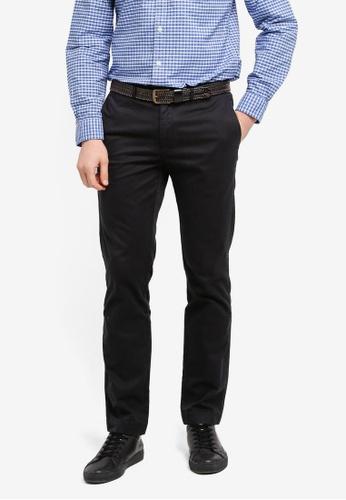 Brooks Brothers black Red Fleece Slim Chino Pants 5063EAAE12BEA1GS_1