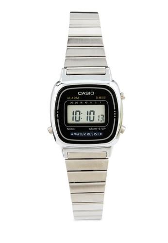 Casio black Unisex Digital Watches LA670WA-1DF 0C426ACECBAF69GS_1