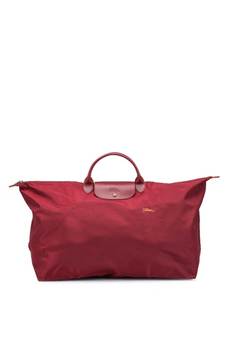 LONGCHAMP red Le Pliage Club L Travel Bag (zt) CADB2ACD42EEEBGS_1