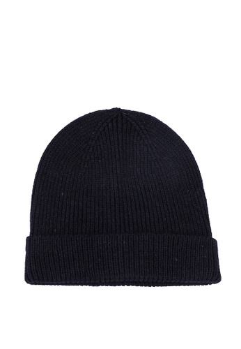 Only & Sons navy Frederico Knit Beanie 77386AC4AC9D01GS_1