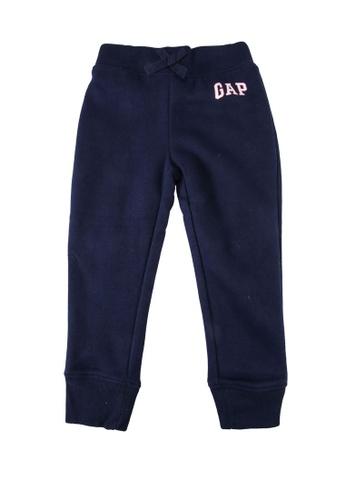 GAP blue Logo Fleece Trousers A5C4BKA9015B99GS_1