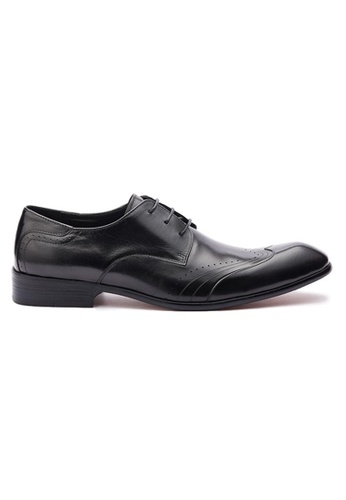 Kings Collection black Weston Formal Shoes 8FD4ASH76FE379GS_1