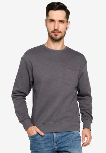 BLEND grey Pocket Sweatshirt 0EFCDAA21CAA7BGS_1