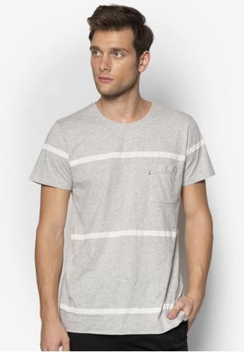 條紋短袖TEE, 服飾,esprit 折扣 服飾