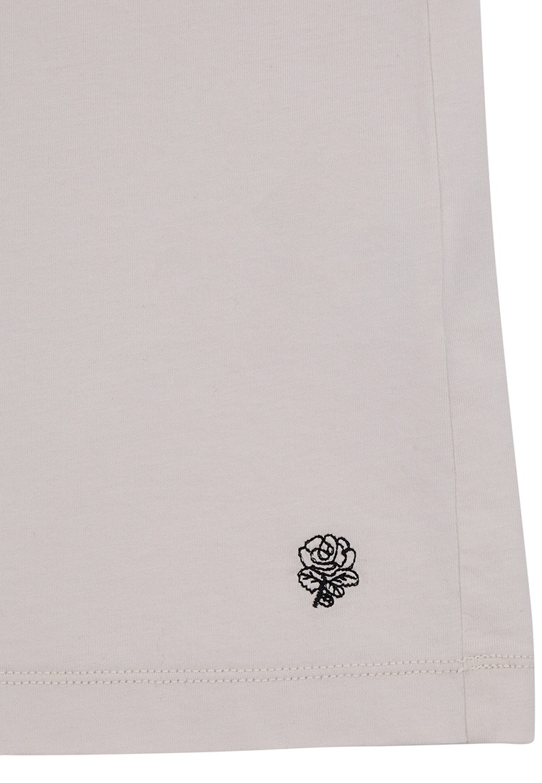 Kent And Cotton Curwen white T Shirt Linen and xIdAdqn