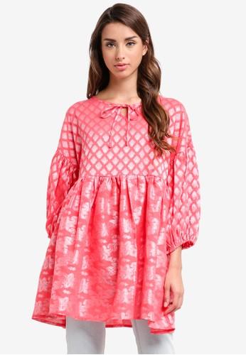 Glamorous pink Ladies Tunic 5C215AA127E916GS_1