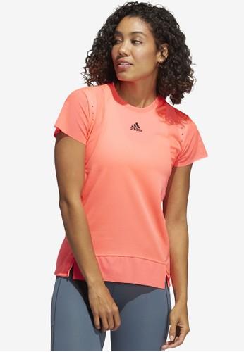 ADIDAS pink heat.rdy training tee 52363AA4DE94A8GS_1