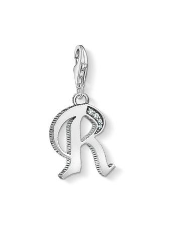 "THOMAS SABO silver Charm pendant ""letter R silver 70C17ACB84C39DGS_1"