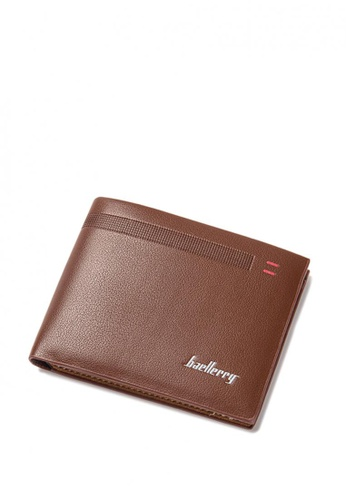 LOVENGIFTS brown LOVENGIFTS Ticino Bifold Wallet For Men (Bombay Brown) LO429AC46XBLMY_1
