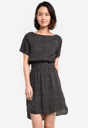 ZALORA black Elasticated Waist Dress BD334ZZC988D2BGS_1