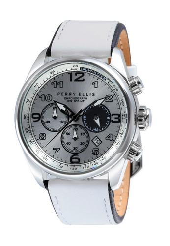 Perry Ellis white Perry Ellis GT Men Chronograph 44mm Quartz Watch 01007-01 C2825AC9902447GS_1