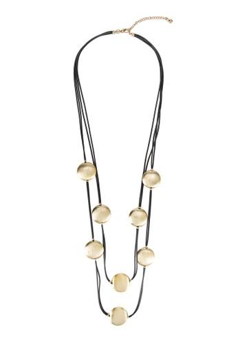圓esprit hk分店環飾層次項鍊, 飾品配件, 飾品配件