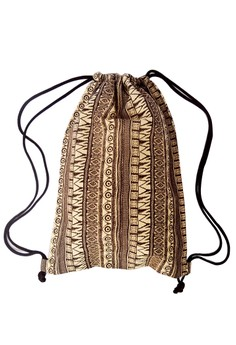Printed Drawstring Bag