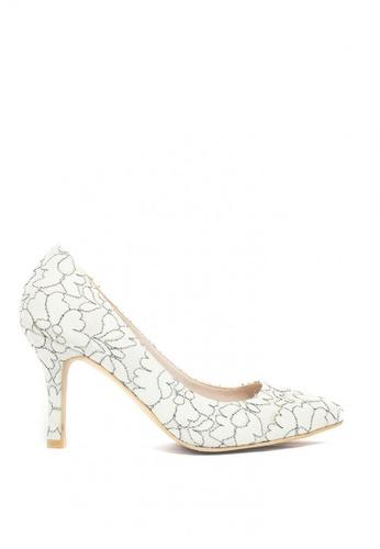 M&G white Crysta Heels by M&G F9541SH1F72905GS_1