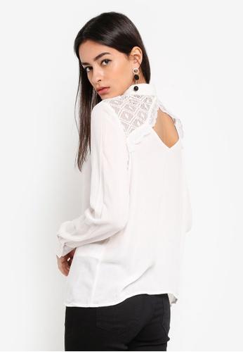 Vero Moda beige Vivi Shirt A4748AA34E427BGS_1