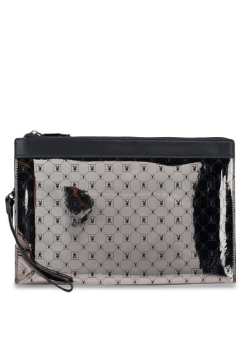 Playboy black Playboy Clutch Bag 4D4EBAC57C27A6GS_1