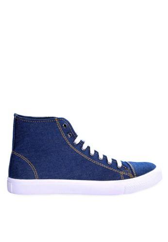 Sogno blue Sepatu Sneakers Casual GHS 016 35942SH4711979GS_1