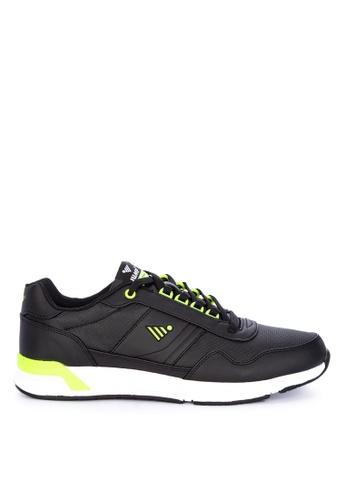 Jump black Jetro Sneakers 256C8SH3E1D386GS_1
