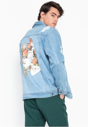 söpö virallinen hinta alennettu Oversized Denim Jacket