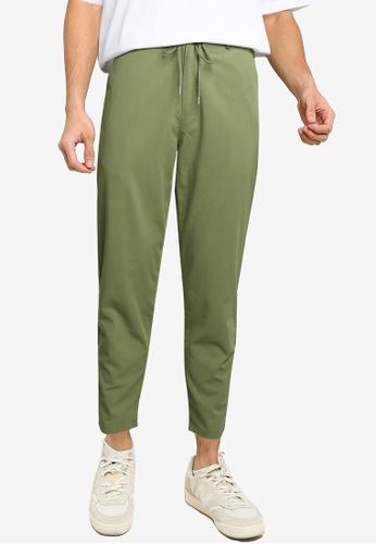 niko and ... green Casual Pants F484DAA2D70C9BGS_1