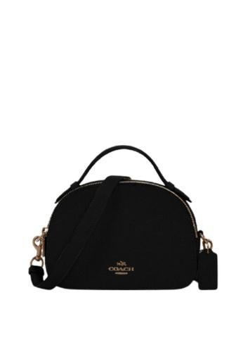 Coach black Coach Serena 1589 Satchel Bag In Black 8B072AC675002BGS_1