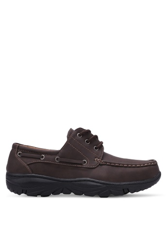 Rocklander brown Casual Boat Shoes RO978SH0S87NMY_1