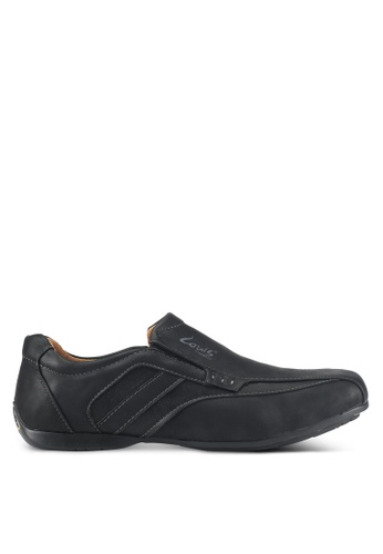 Louis Cuppers black Casual Slip Ons 1F0CCSHAD74AE3GS_1