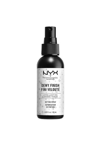 NYX Professional Makeup NYX Professional Makeup Dewy Finish Makeup Setting Spray 9B951BE8F32A19GS_1