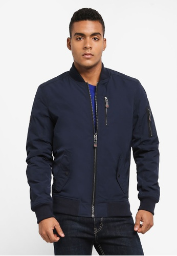 Superdry navy SDR WAX FLIGHT BOMBER 6FB0DAA052A8A8GS_1