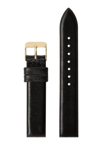 KOMONO black and gold Estelle - Strap 16.5 Black Gold KO163AC0T0TPMY_1