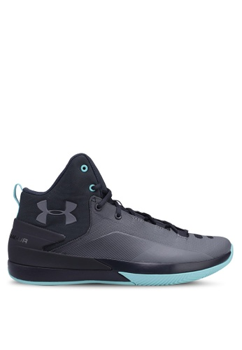 Under Armour grey UA Rocket 3 Shoes 0319ASH712A052GS_1