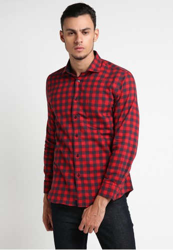 EDITION red Red Navy Flannel 49066AA694BE1AGS_1
