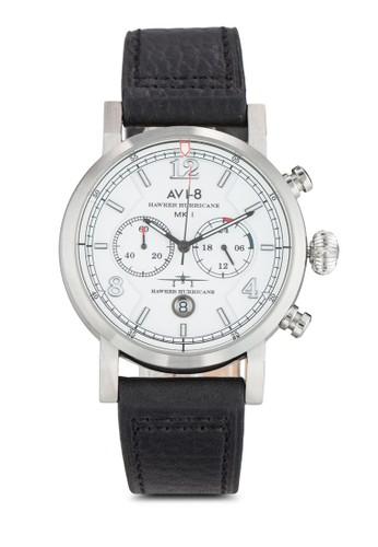 Haesprit hk storewker Hurricane 多功能計時皮革手錶, 錶類, 飾品配件