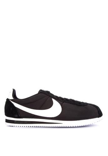 Nike black Classic Cortez Nylon Shoes EB099SH2EE0D4BGS_1