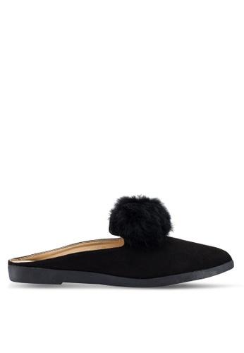 Berrybenka 黑色 質感穆勒鞋 7A5D3SH447FB2EGS_1